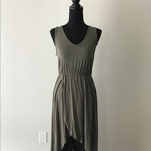 Dresses - Green Hi Low Maxi Dress